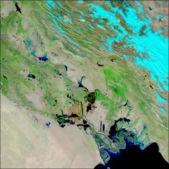 Annual Floods Return to Iraq