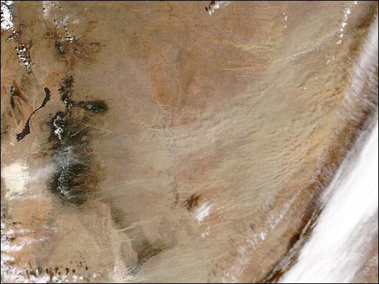 Dust Storm Scours West Texas