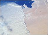 Massive Sandstorm in Qatar