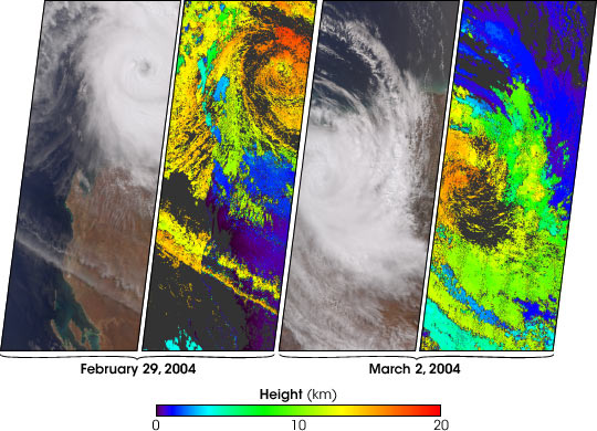 Tropical Cyclone Monty Strikes Western Australia