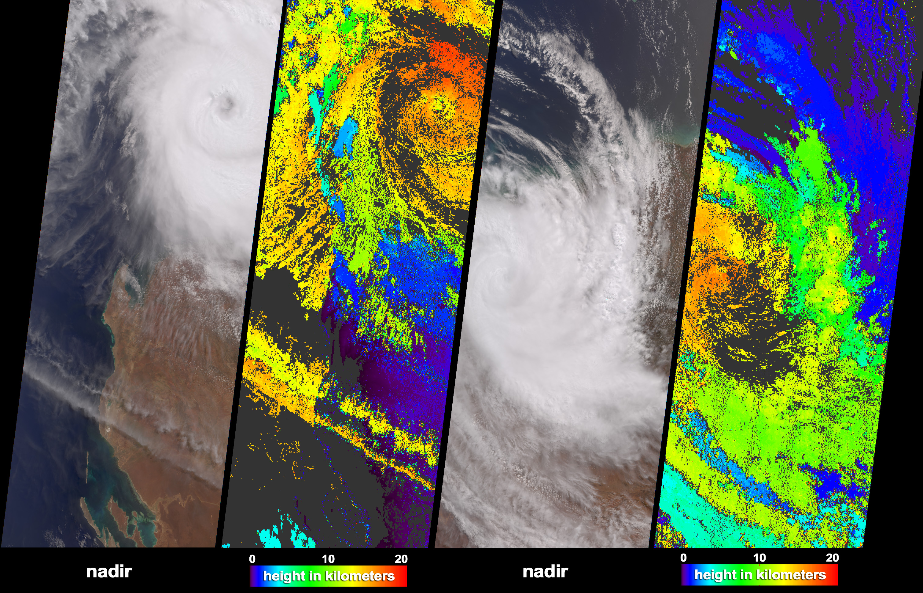 Tropical Cyclone Monty Strikes Western Australia  - related image preview