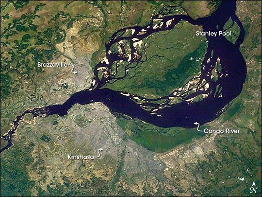 Kinshasa and Brazzaville