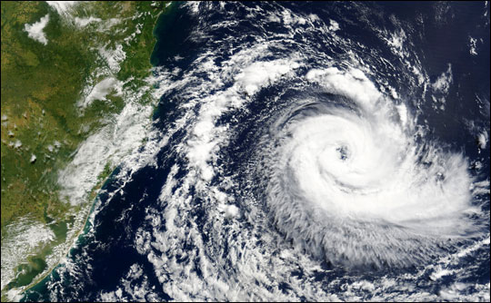 Rare South Atlantic Tropical Cyclone