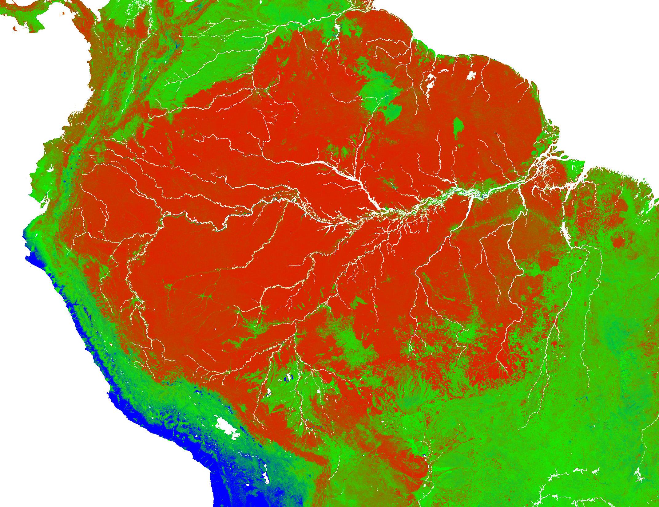 download large image  2 MB  JPEG  2143x1650 Amazon Rainforest Map Deforestation