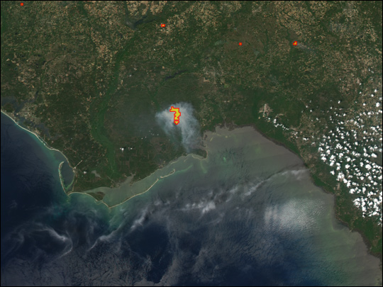 East Fork Fire, Florida