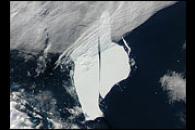 The A38-B Iceberg Splits