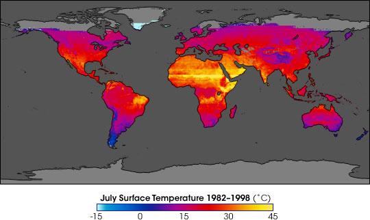 NASA Satellites Reveal Warming Trend