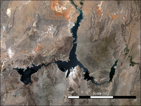 Lake Mead in Drought