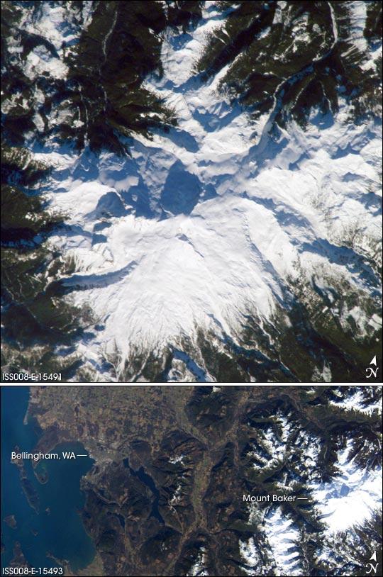 Mount Baker, Washington—a Hazardous Beauty