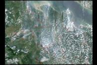 Fires on Sumatra, Indonesia