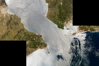 Solitons, Strait of Gibraltar - related image preview
