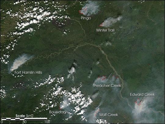 Lightning Triggers Fires Across Alaska