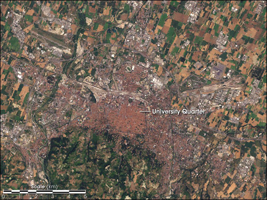 Bologna, Italy—Home of Cassini