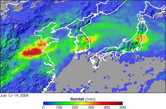 Monsoon Rains Flood East Asia