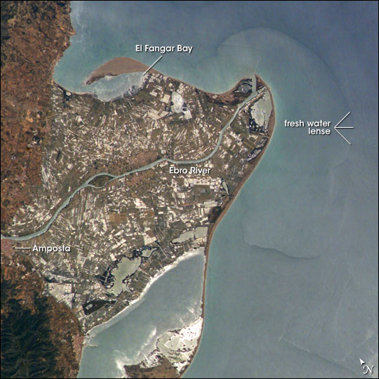 Ebro River Delta, Northeastern Spain - related image preview