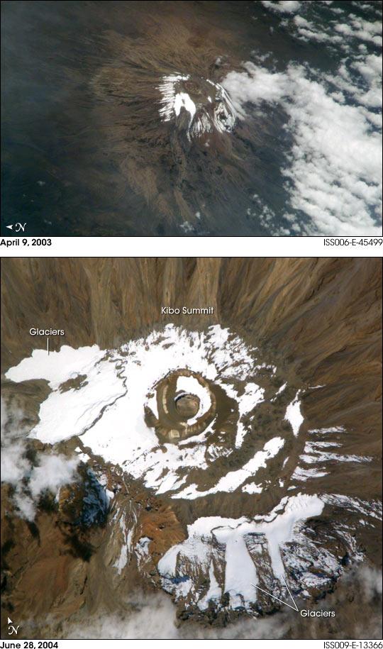 Mount Kilimanjaro Closeup