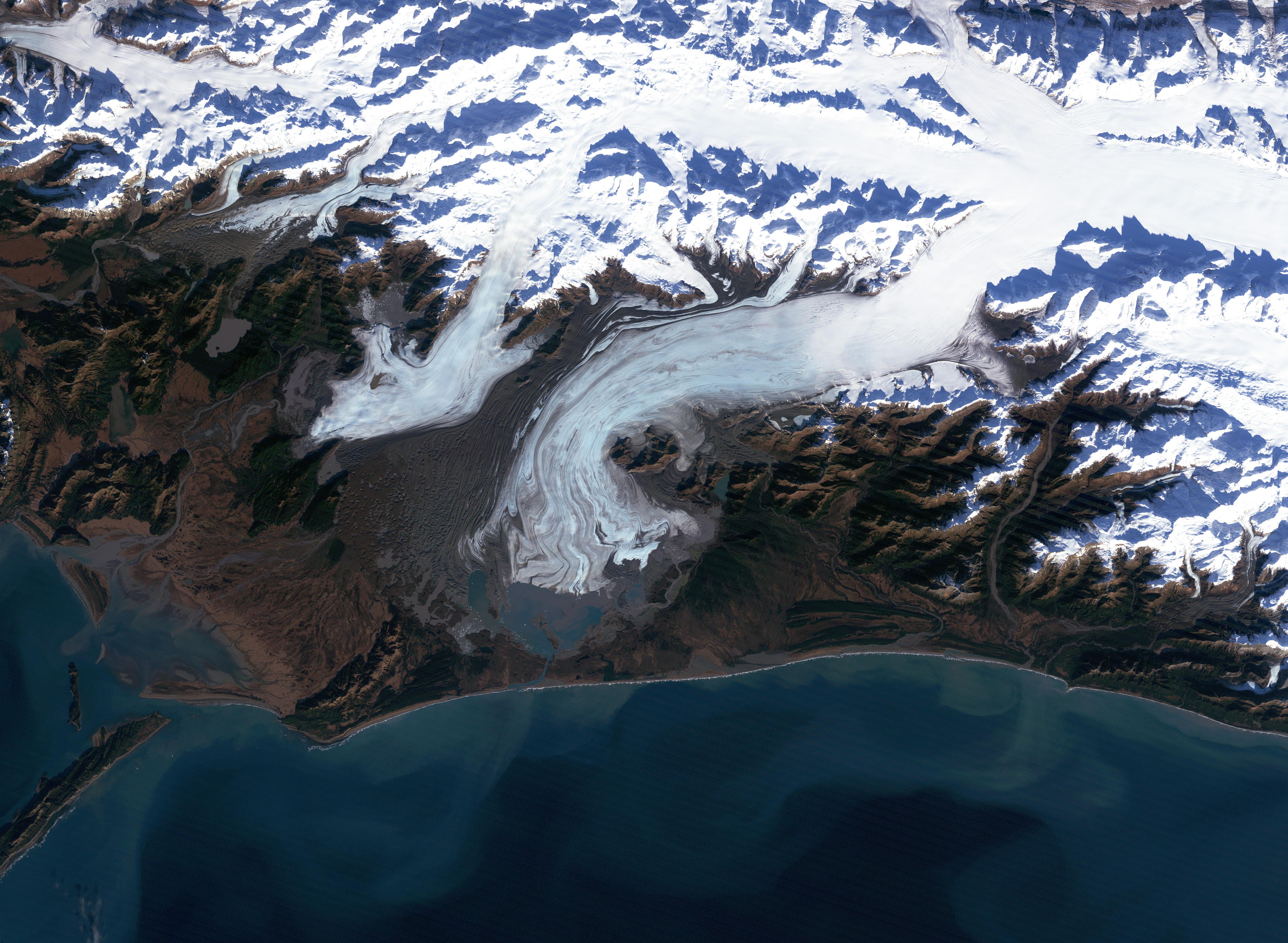 Bering Glacier, Alaska : Image of the Day