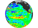 Warm Pacific Water Wave Heads East, But No El Niño Yet