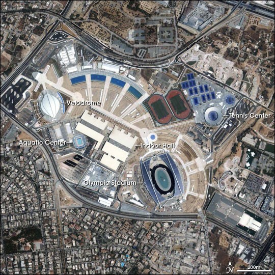 Athens Olympics Sports Complex