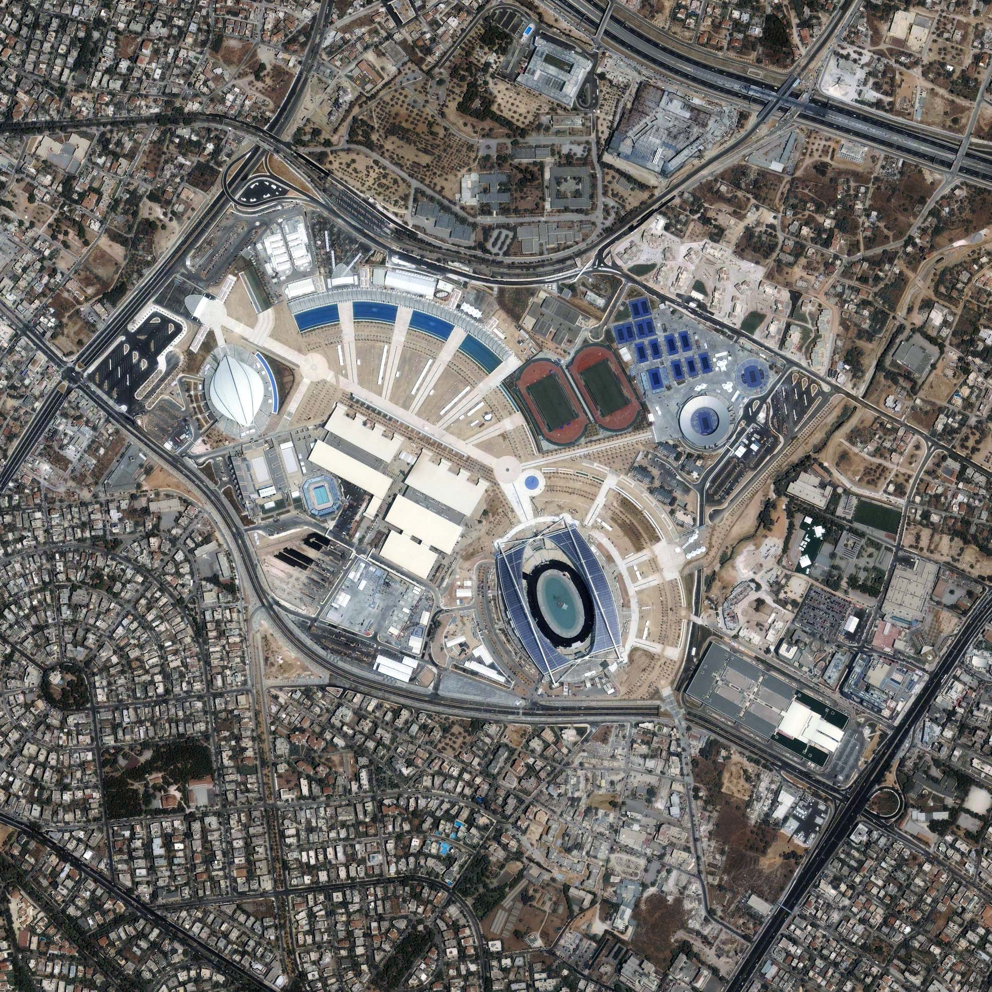 Athens Olympics Sports Complex Image Of The Day