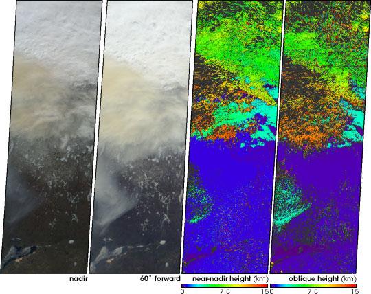 Smoke Soars to Stratospheric Heights