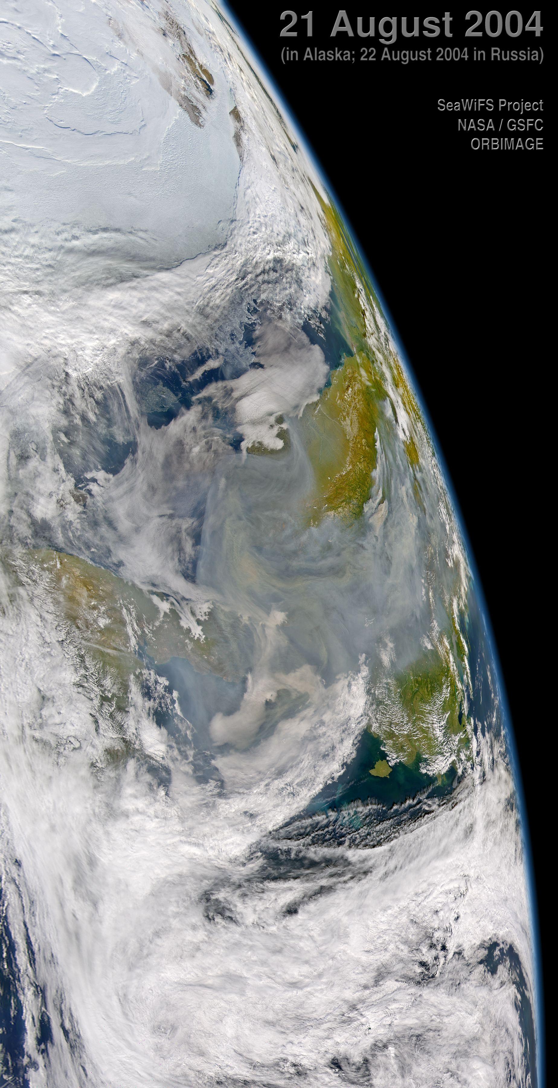 Smoke from Alaska Fires - related image preview