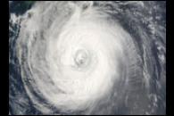 Typhoon Chaba Brushes Kyushu