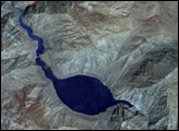 Landslide Creates Lake in Tibet