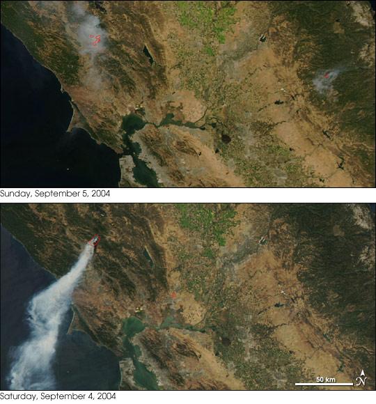 Geysers Fire, Northern California