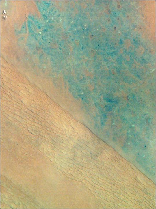 Ad Dahna Sand Cordon, Saudi Arabia