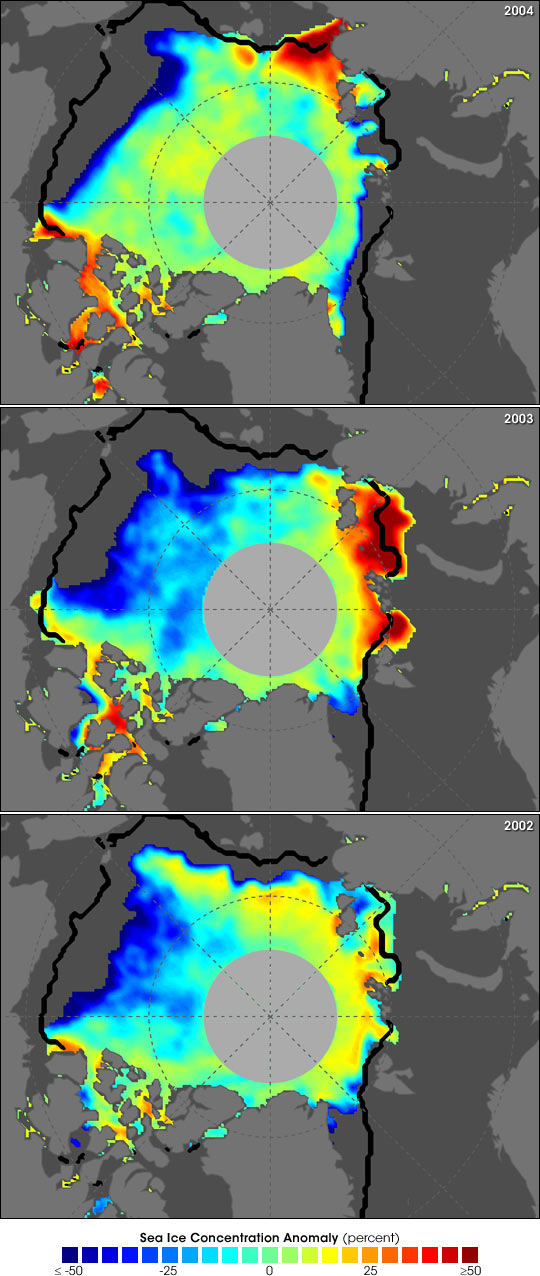 Arctic Sea Ice Decline Continues