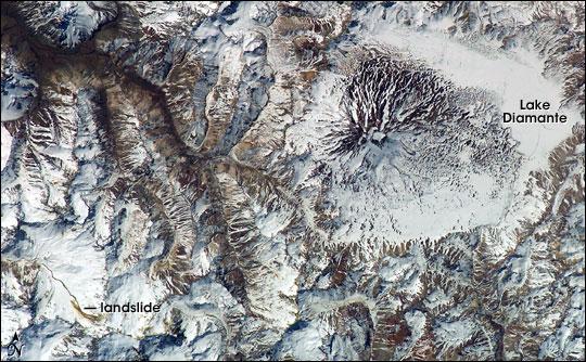 Maipo Volcano, Chile