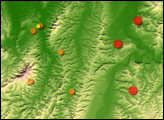 Earthquakes near Niigata, Japan