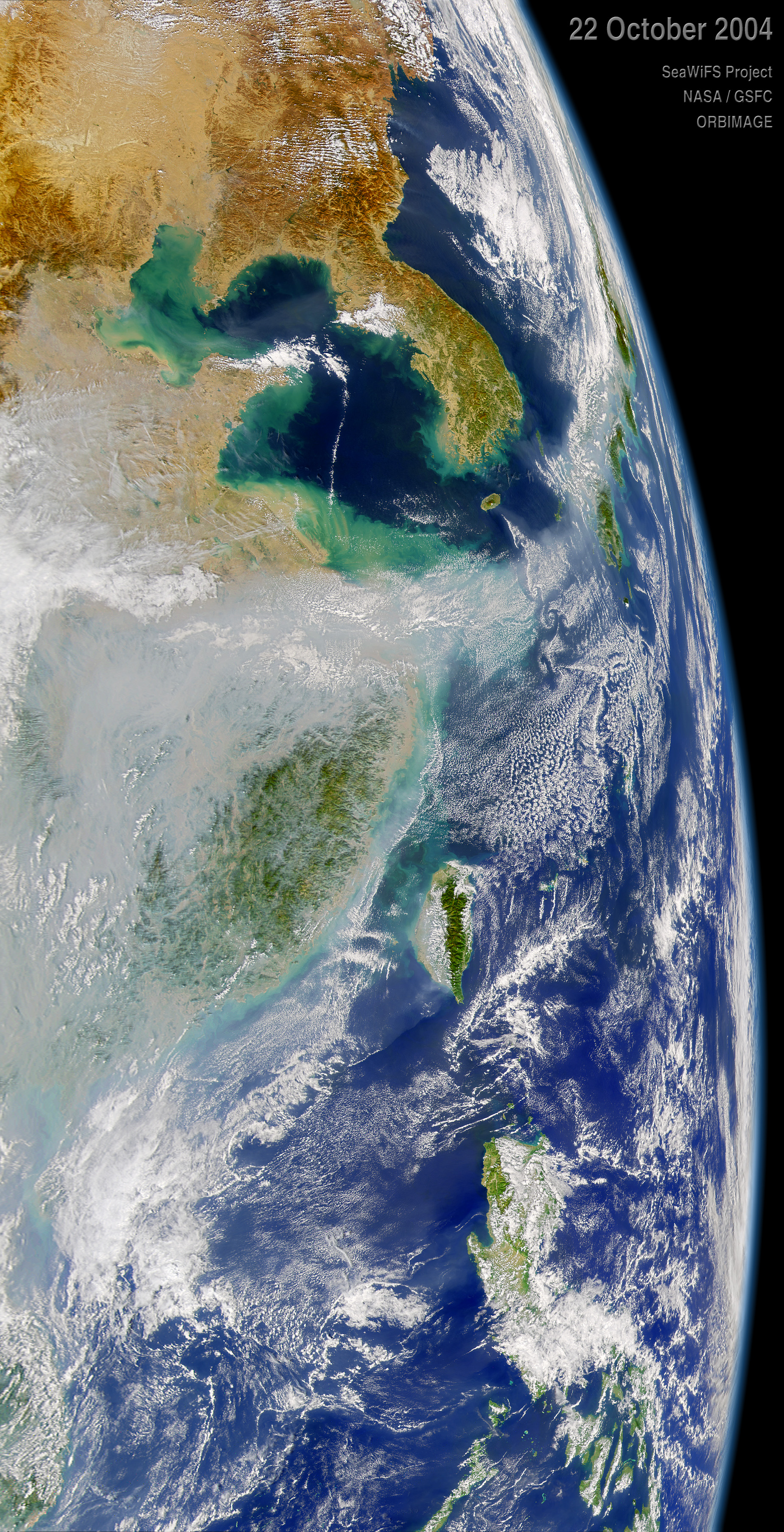 Pollution over China Blows out to Sea - related image preview