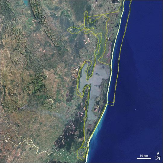 St. Lucia Estuary, South Africa