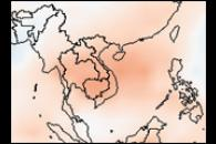 Early Dry Season in Southeast Asia