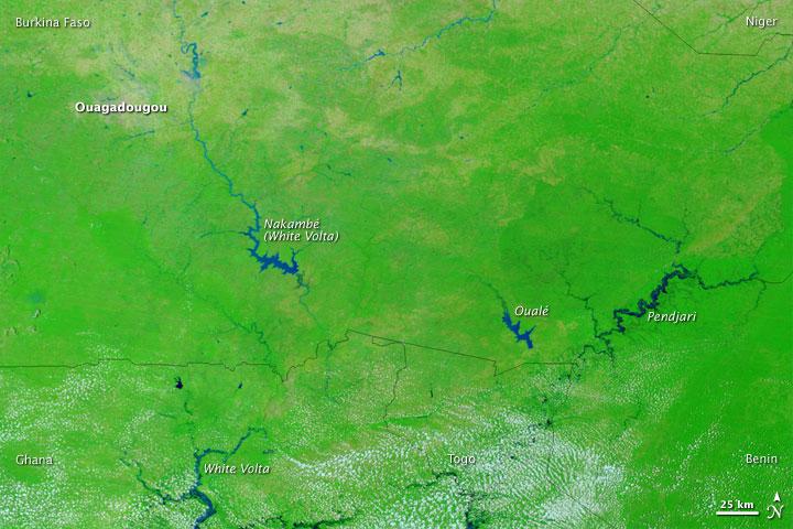 Floods across the Western Sahel