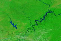 Floods across the Western Sahel