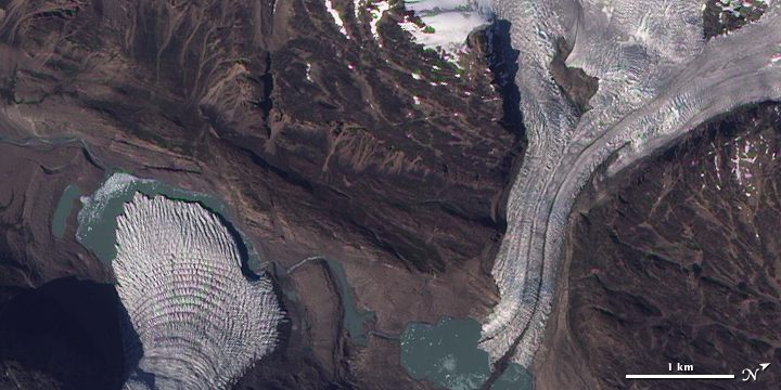 Glaciers Flow into a Greenland Valley - related image preview