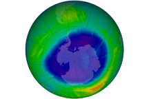 Antarctic Ozone Hole 2009