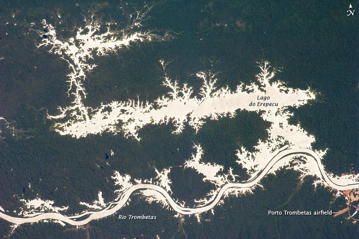 Lago Erepecu and Rio Trombetas, Brazil
