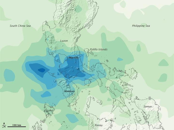 Heavy Rains in Philippines