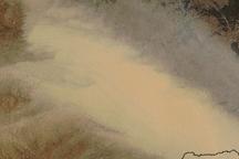 Dust over Eastern Australia