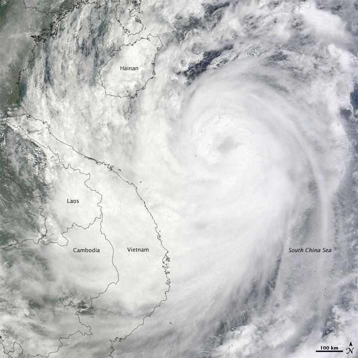 Tropical Storm Ketsana