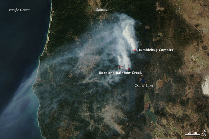 Wildfires in Oregon