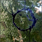 Lake Manicouagan - selected image