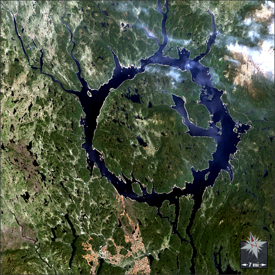 Lake Manicouagan - related image preview