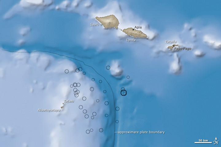 Earthquake off Samoa Generates Tsunami