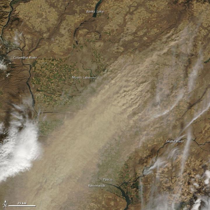 Dust Storm in Eastern Washington