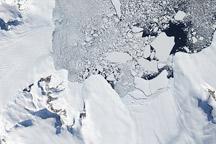 Hampton Glacier, Alexander Island, Antarctica